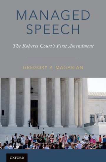 Cover of Managed Speech