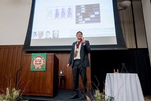 Genin named inaugural Faught Professor of Mechanical Engineering
