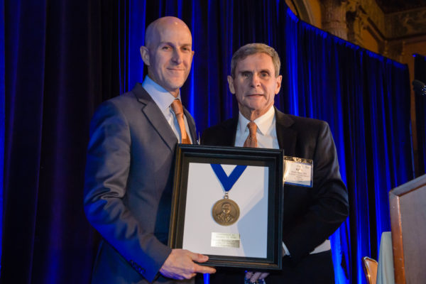 Ralph Dacey gets honor