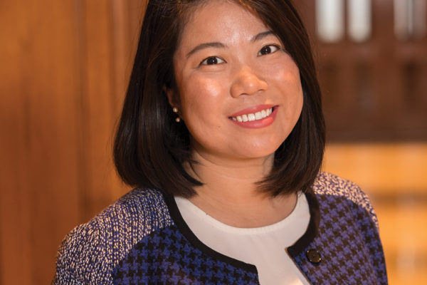 Emma Zhao, MSW '11, new director of International Programs