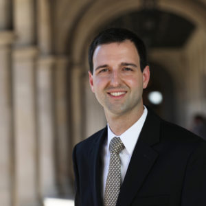Fernando Cutz, AB '10, serves as ­a senior adviser to ­National Security Adviser H.R. McMaster. (Joe Angeles/WUSTL Photos)