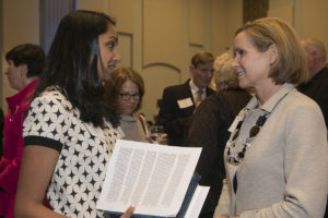 student Divya Walia is a winner of the Switzer award