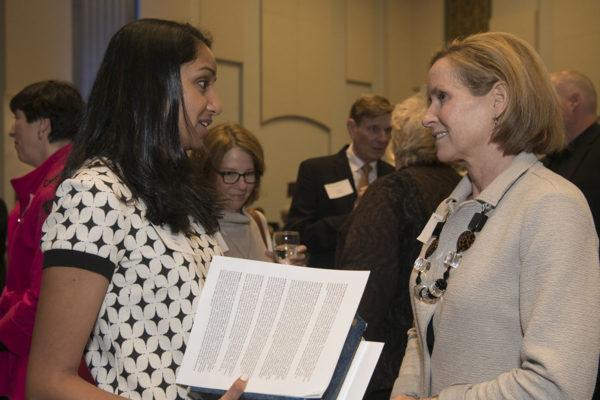 Women's Society gives leadership awards, scholarships