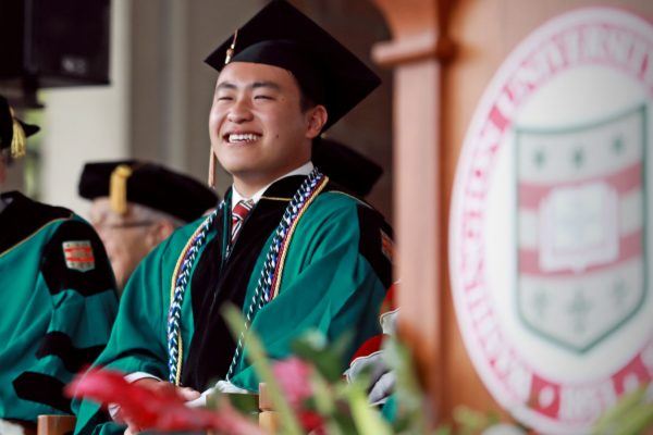 Senior class president William Feng's message to the Class of2018