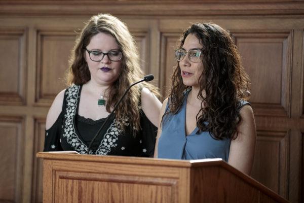 women faculty awards event