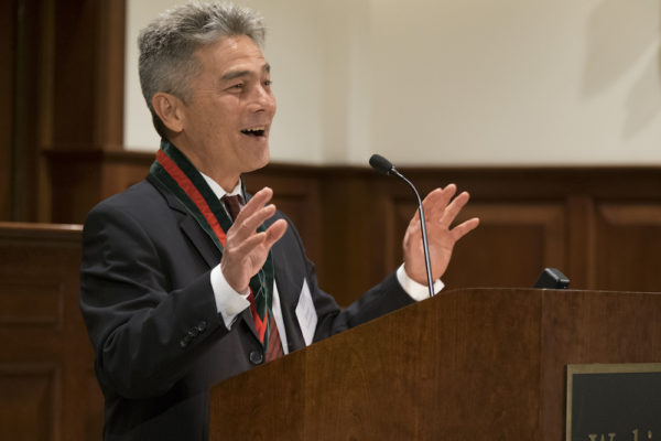Tamanaha installed as Lehmann University Professor