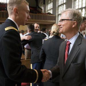 ROTC commissioning cadets