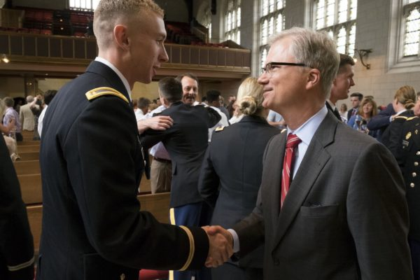 ROTC celebrates 100 years at WashU