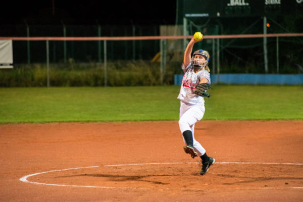 softball pitcher