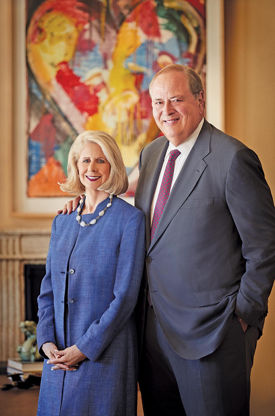 Debra and George W. Couch III