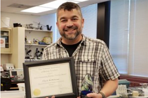 McWilliams named state's top biology teacher