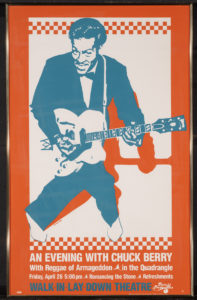 Chuck Berry WILD poster