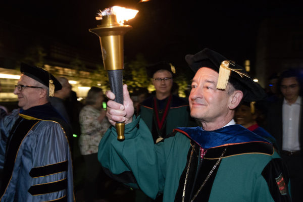 First of many lasts: Chancellor celebrates final Convocation