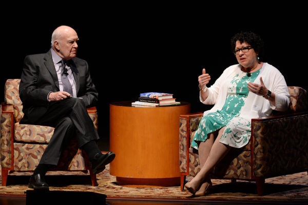 Sonia Sotomayor in town