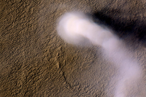 Martian dust devil