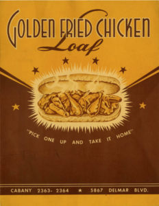 Golden Fried Chicken Loaf (Courtesy of Lost Tables)