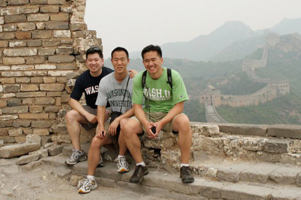 Reunion at the Great Wall