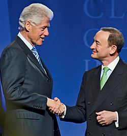 Q A Clinton And Wrighton Talk Service Funding Impact The Source Washington University In St Louis