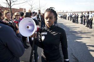 Ferguson protester Brittany Ferrell