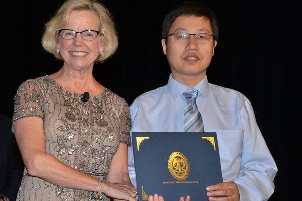 Lei Liu honored