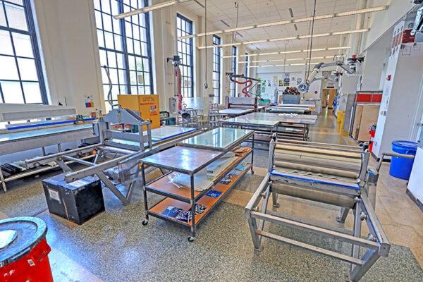 WashU Spaces: Dubinsky Printmaking Studio