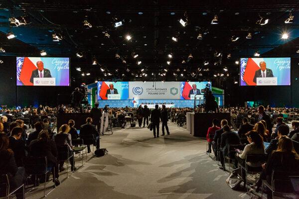Students participate in U.N. global climate summit