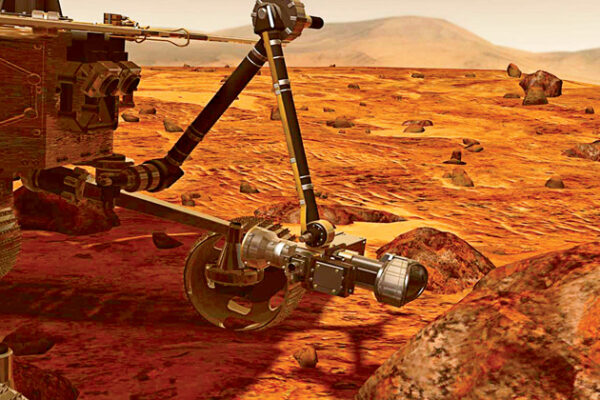 Mars Rover on Verge of New Discovery