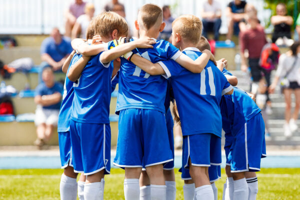 How team sports change a child's brain