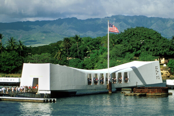 Alumni Share Connections During Tour of USS Arizona Memorial