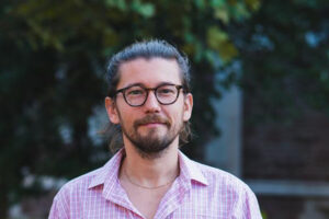 Oguz Alyanak, an anthropolog doctoral student at Washington University (2019)