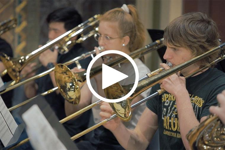 Wind Ensemble performs