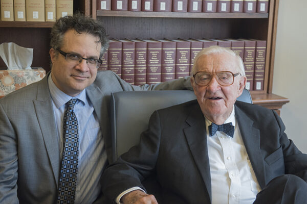 WashU Expert: Justice Stevens was a man of 'abiding decency'