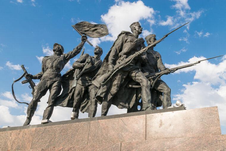 Russian war monument