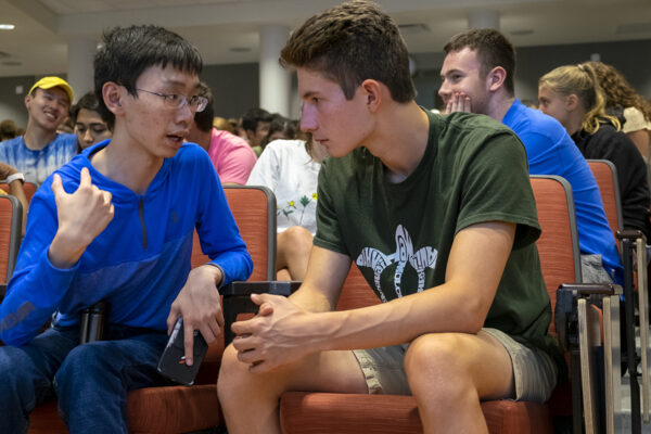 New students learn to navigate tough conversations