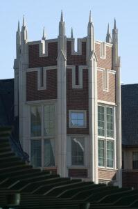 Tower of Koenig-Liggett House