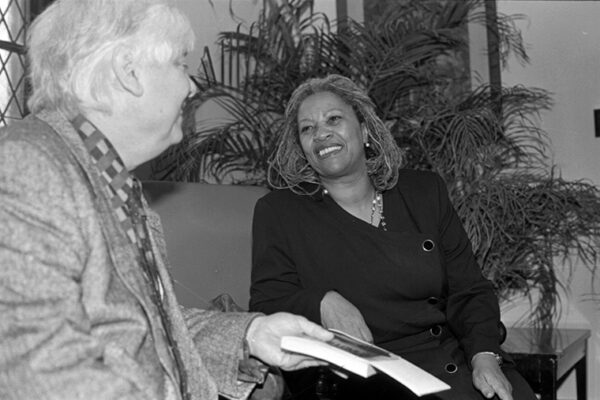 When Bill Gass introduced Toni Morrison