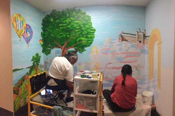Mural celebrates spirit of Rodriguez scholars