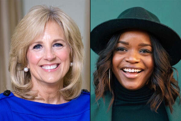 Jill Biden, alumna Brittany Packnett headline 'She Leads' conference