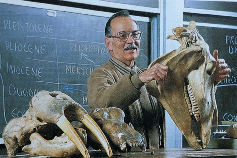 Harold Levin at work