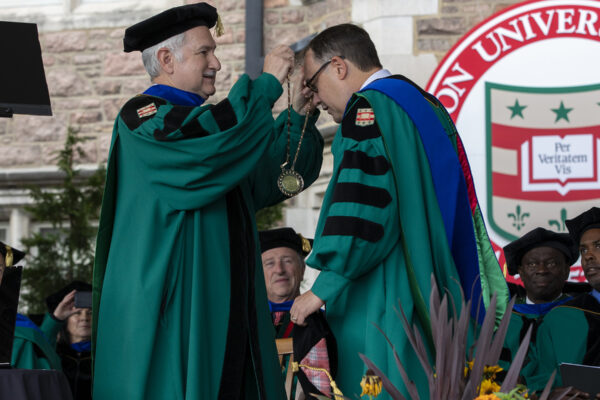 Inside the inauguration of Chancellor Andrew D. Martin