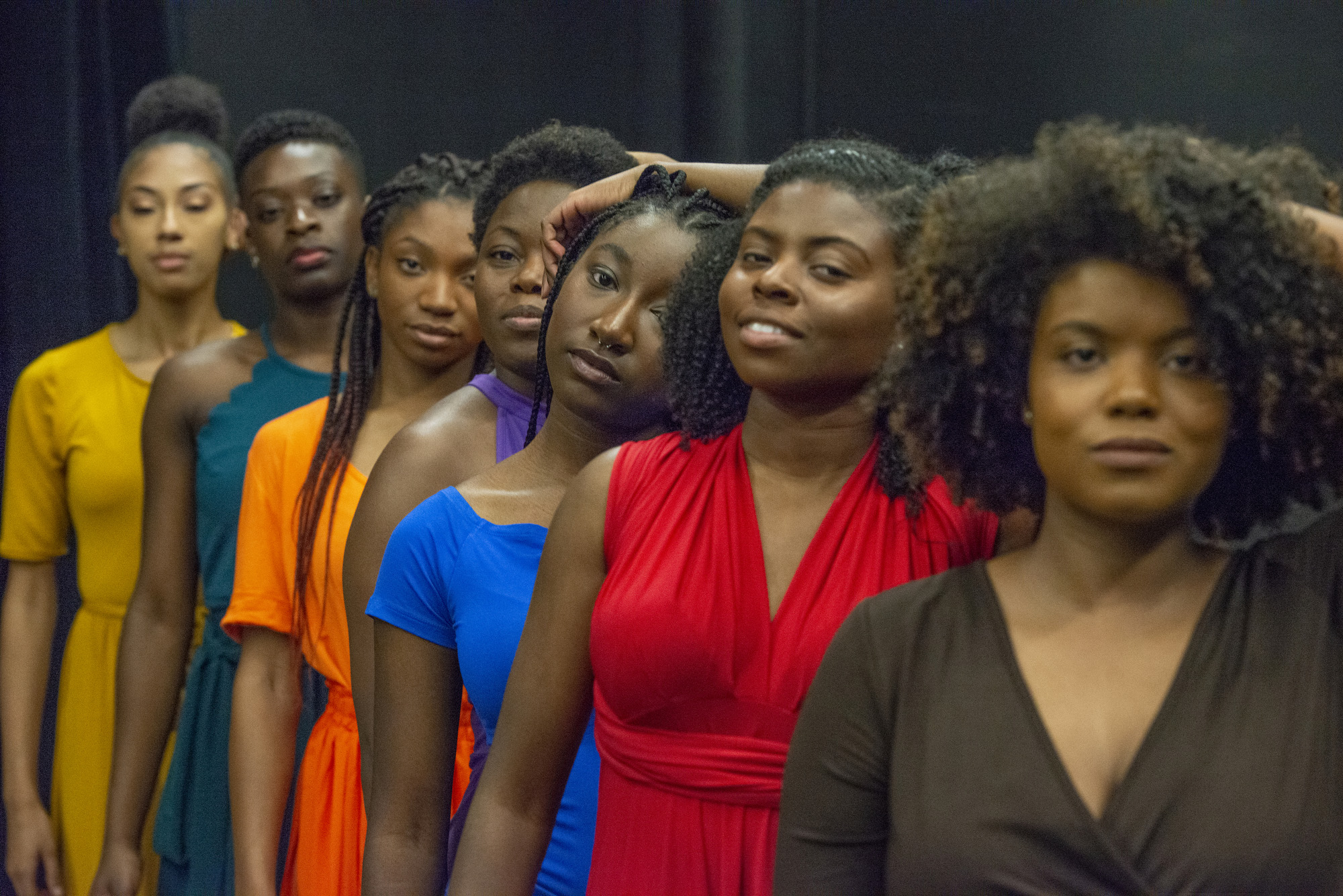 Cast of 'For Colored Girls'