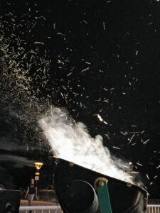 moth incineration