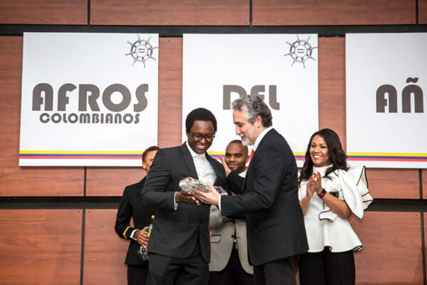 Graduate student wins 'Afro-Colombian of the Year' award