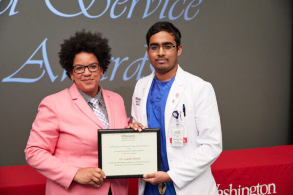 Medical students celebrate their teachers, mentors