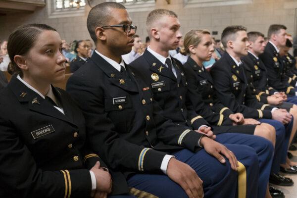 U.S. Army Cadet Command (ROTC) recognizes Washington University