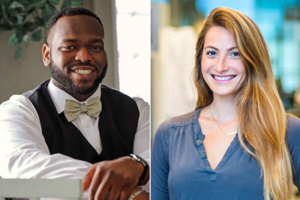Two School of Medicine students named to Forbes' '30 Under 30' lists
