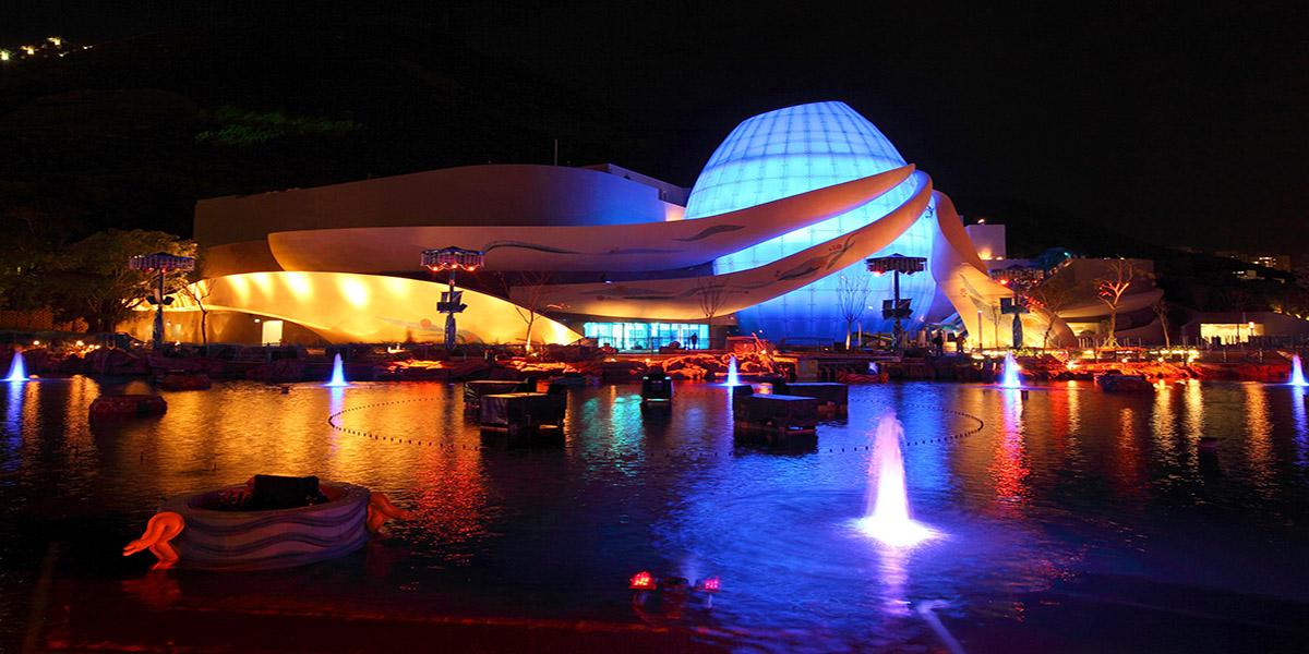 PGAV Destinations also designed the Grand Aquarium at Ocean Park Hong Kong.