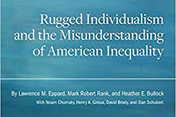 Book explores 'rugged individualism' and its impact on inequality in America
