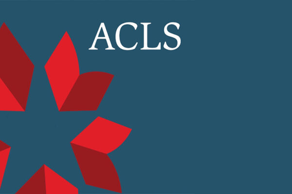 Vedal wins ACLS Fellowship