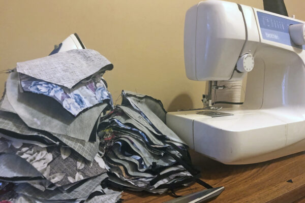 University community members sew masks to help protect St. Louisans